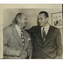 1950 Press Photo Philadelphia Phillies baseball manager Eddie Sawyer - sas17854
