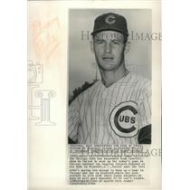 1962 Press Photo Chicago Cubs baseball catcher, Sammy Taylor - mjt16895