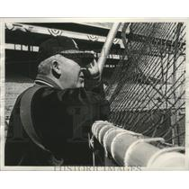 1963 Press Photo Milwaukee Braves baseball manager, Birdie Tebbetts - mjt16468