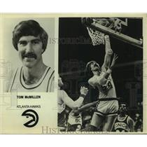 Press Photo Atlanta Hawks basketball player Tom McMillen - sas18034