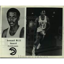 Press Photo Atlanta Hawks basketball plaeyr Armond Hill - sas17940