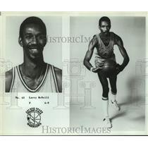 Press Photo Golden State Warriors basketball player Larry McNeill - sas18030