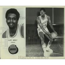 Press Photo Houston Rockets basketball player Cliff Meely - sas18045