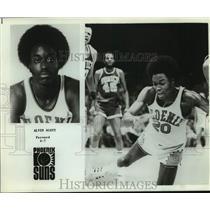 Press Photo Phoenix Suns basketball player Alvin Scott - sas17824