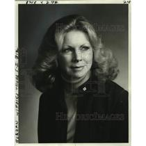 1978 Press Photo Donna Jordan, City Manager for United Airlines in New Orleans