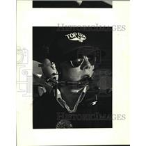 1987 Press Photo Dixon Laiche, jet pilot and solos for the first time