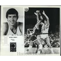 1978 Press Photo Phoenix Suns basketball player Bayard Forrest - nos12527