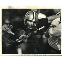 1983 Press Photo New Orleans Saints football player Tony Elliott - nos12540