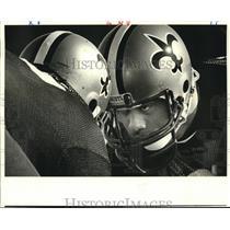 1984 Press Photo New Orleans Saints football player Tony Elliott - nos12539