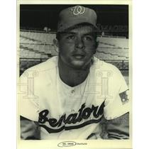 Press Photo Washington Senators Baseball Outfielder Del Unser - sas19876