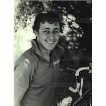 1983 Press Photo Roy Knickman to compete in Milwaukee Sentinel Cycling Classic