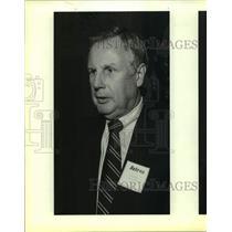 1986 Press Photo Houston Astros Baseball President & General Manager Dick Wagner