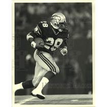 1988 Press Photo Seattle Seahawks Football Running Back Curt Warner - sas19897