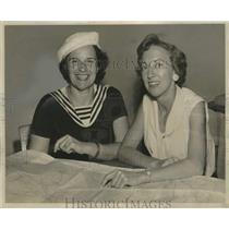 1962 Press Photo Gladys Hogins & Trixie-Ann Schubert in All-Women Air Race