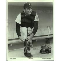 1967 Press Photo Houston Astros baseball player Bill Heath - nos17451