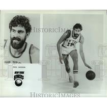 1975 Press Photo New York Knicks basketball player Phil Jackson - nos17084