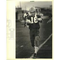 1981 Press Photo Green Bay Packers football punter, Ray Stachowicz - mjc38882