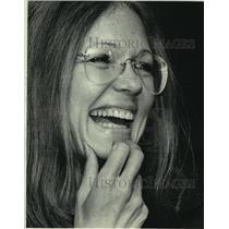 1984 Press Photo Activist Gloria Steinem - mjc14089