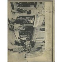 1975 Press Photo Via Condotti Shopping Street Rome - RRX94803