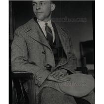 1924 Press Photo Raymond Parker Bauer Murder Witness - RRW78353