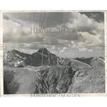 1950 Press Photo Colorado Mount Holy Cross Erosion - RRX82807