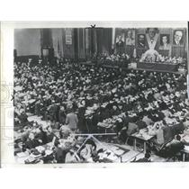 1946 Press Photo UAW Convention Atlantic City