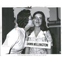 1973 Press Photo Dawn Millington Spelling Be Winner