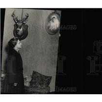 1924 Press Photo Mrs George Mother Maude Bauer Slain - RRW78431