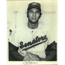 Press Photo Washington Senators Baseball Pitcher Jerry Janeski - sas11709