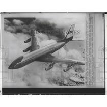 1961 Press Photo Artists concept of Boeing C135A ordered by the U.S. Air Force