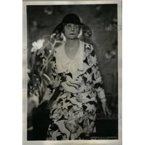 1932 Press Photo Mrs Boarh Wife of Republican Leader - RRX36391