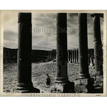 1955 Press Photo Jeresh Ruins - RRX62571
