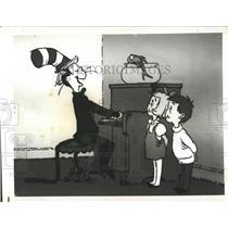1972 Press Photo Dr.Seuss Cat In The Hat - RRX86199