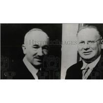 1934 Press Photo Maxim Litvinoff & M. Benes Delegates - RRW77923