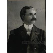 1919 Press Photo Portrait Of Mustached Man - RRW76917