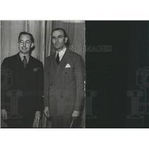 1938PressPhoto John Rogers& Edwin Elliott Labor leaders - RRX89565