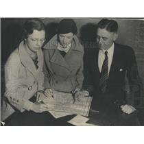 1934 Press Photo Opportunity School Students Tourist - RRX83161