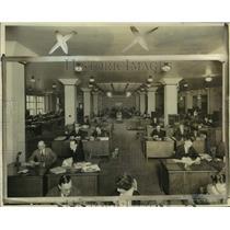 1924 Press Photo Milwaukee Journal Display Advertising Department - mje01221