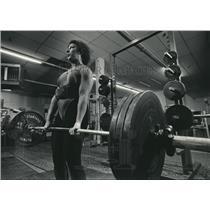 1986 Press Photo Deborah McElroy-Patton, Weightlifter from Wisconsin - mjb20560