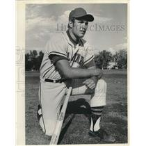 Press Photo John Stearns of the New York Mets - lrs08723