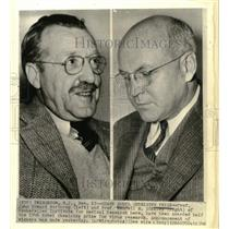 1946 Press Photo Nobel Prize winners Prof.'s Howard Northrop, Wendell Stanley