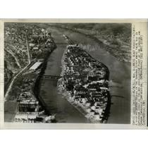 1941 Press Photo Blaine Island In Kanawha River - RRX79871