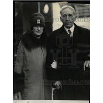 1927 Press Photo Senator William King Wife Caribbean - RRW78665