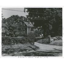 Press Photo Wayside Inn Sud bury Famous Lafayette Long - RRY04079