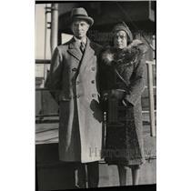 1930 Press Photo Parker Gilbert German San Francisco - RRW95939