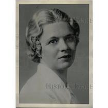 1937 Press Photo Eva A. Martin Singer Pianist - RRW79929