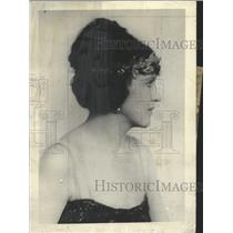 1924 Press Photo Mrs Max Melville daughter Nicholson - RRX87409