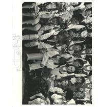 1977 Press Photo Millard International Chorus Members - RRX95775