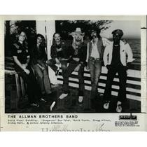 1940 Press Photo Allman Brothers Band Rock Band - RRX76547