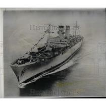 1953 Press Photo General Weigel New York Korean War - RRX68659